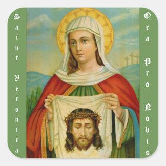 Adesivo Quadrado Santo Veronica banquete dia o 12 de julho