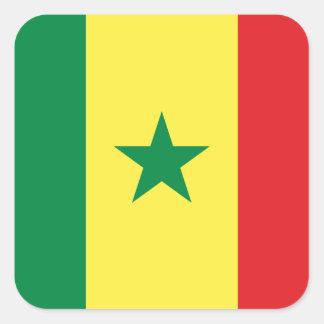 Adesivo Quadrado Senegal