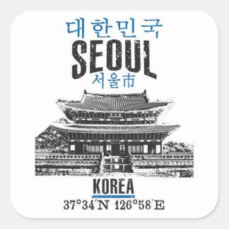 Adesivo Quadrado Seoul