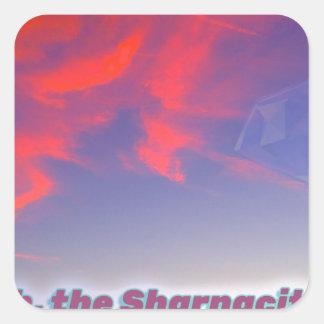 Adesivo Quadrado Sharnacity
