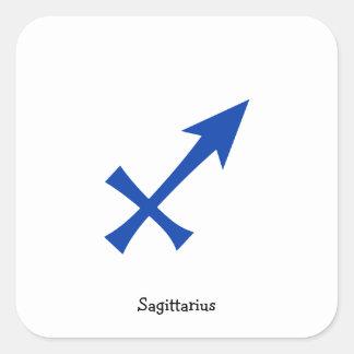 Adesivo Quadrado Símbolo do Sagitário