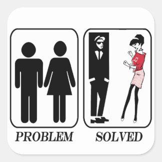 Adesivo Quadrado Ska resolvido problema