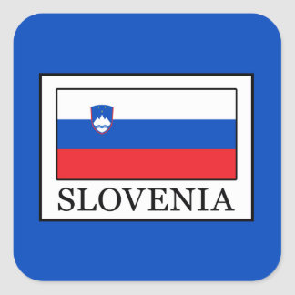 Adesivo Quadrado Slovenia