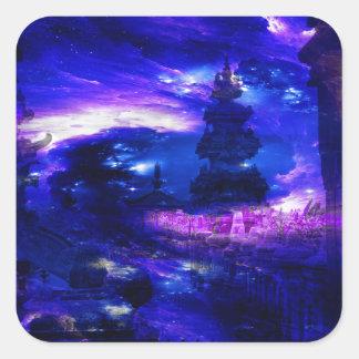 Adesivo Quadrado Sonhos Amethyst de Bali da safira
