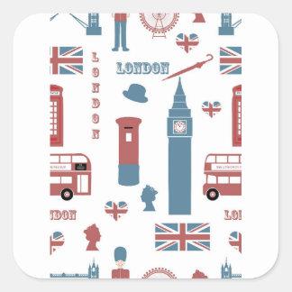 Adesivo Quadrado Special de Londres