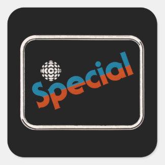 Adesivo Quadrado Special do CBC - gráfico 1978 do promo