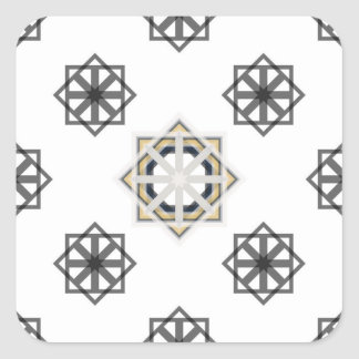 Adesivo Quadrado spirograph-multiple-shapes3-35