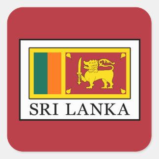 Adesivo Quadrado Sri Lanka