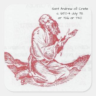 Adesivo Quadrado St Andrew de Crete