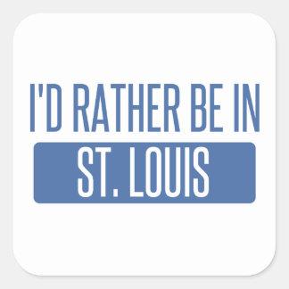 Adesivo Quadrado St Louis