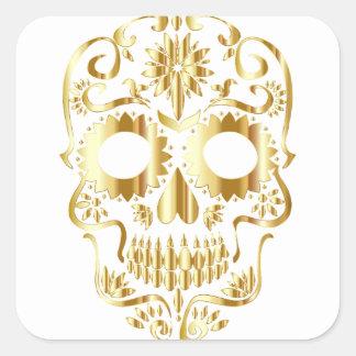 Adesivo Quadrado sugar-skull-1782019