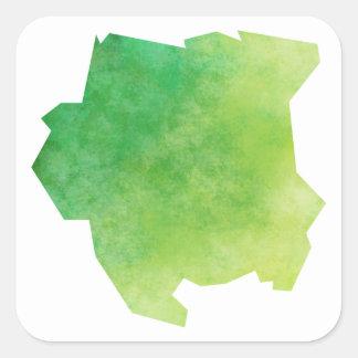 Adesivo Quadrado Suriname