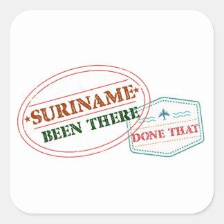 Adesivo Quadrado Suriname feito lá