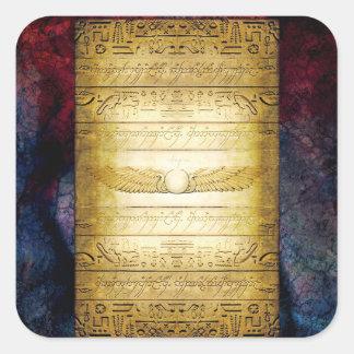 Adesivo Quadrado Tabuleta do egípcio V042