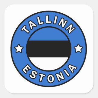 Adesivo Quadrado Tallinn Estónia