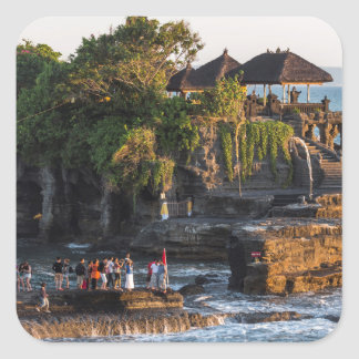 Adesivo Quadrado Tanah-Lote Bali Indonésia