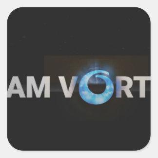Adesivo Quadrado TeamVortex