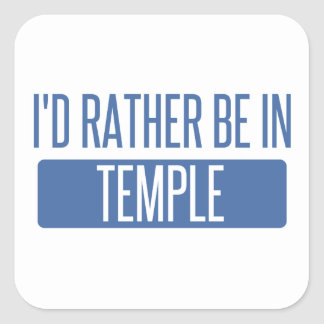 Adesivo Quadrado Templo