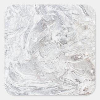 Adesivo Quadrado Teste padrão de mármore