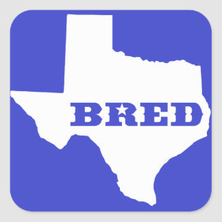 Adesivo Quadrado Texas produziu