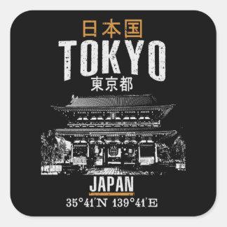 Adesivo Quadrado Tokyo
