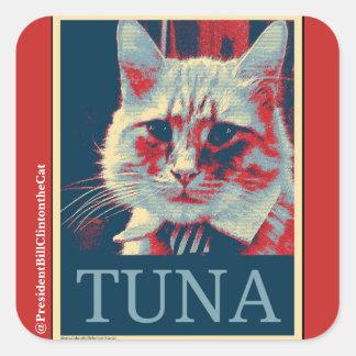 Adesivo Quadrado Tome um suporte… para o atum? Sim nós podemos!