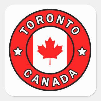 Adesivo Quadrado Toronto Canadá