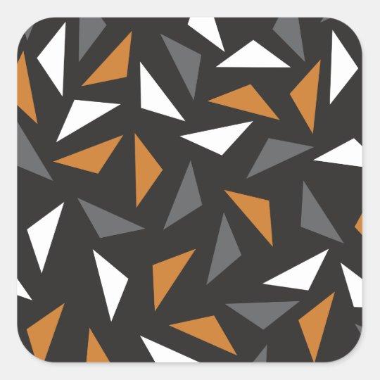 Adesivo Quadrado Triângulos animados