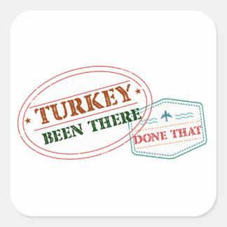 Adesivo Quadrado Turquia feito lá isso