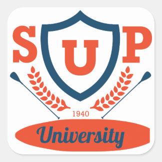 Adesivo Quadrado Universidade do SUP