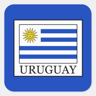 Adesivo Quadrado Uruguai