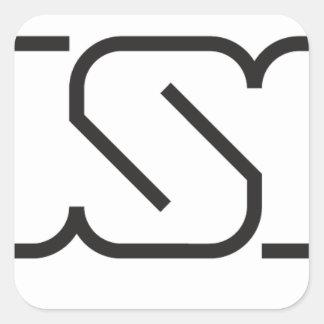 Adesivo Quadrado USP (logotipo)