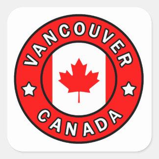 Adesivo Quadrado Vancôver Canadá
