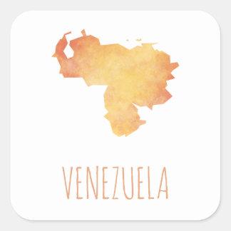 Adesivo Quadrado Venezuela