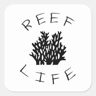 Adesivo Quadrado Vida do recife