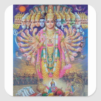 Adesivo Quadrado Vishnu