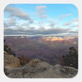 Adesivo Quadrado Vista panorâmica do Grand Canyon