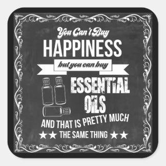 Adesivo Quadrado Você não pode comprar a felicidade mas você pode