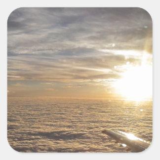 Adesivo Quadrado voe os céus celestiais