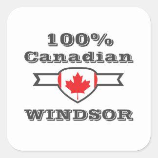 Adesivo Quadrado Windsor 100%