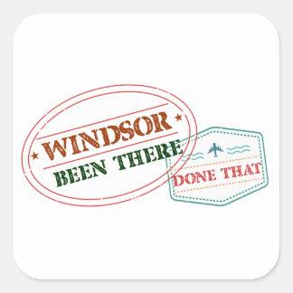 Adesivo Quadrado Windsor feito lá isso