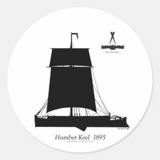 Adesivo Redondo 1895 quilha de Humber - fernandes tony