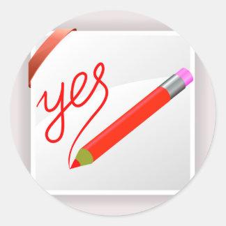Adesivo Redondo 72Red Pencil_rasterized