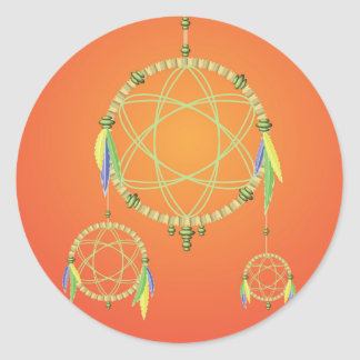 Adesivo Redondo 74Dream Catcher_rasterized