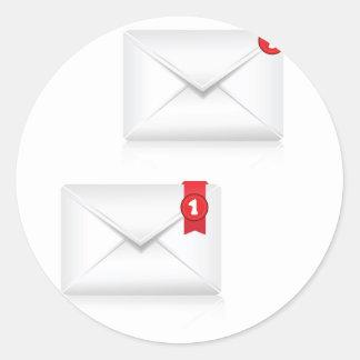 Adesivo Redondo 91Mailbox Icon_rasterized alerta