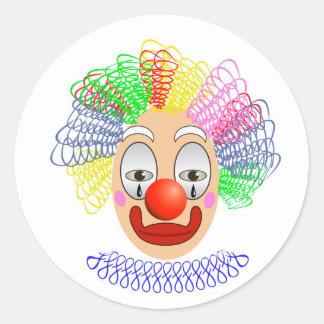 Adesivo Redondo 97Clown Head_rasterized