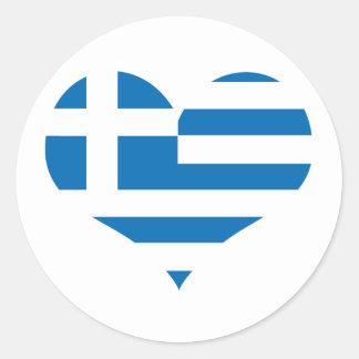 Adesivo Redondo A bandeira nacional da piscina