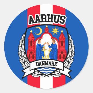 Adesivo Redondo Aarhus