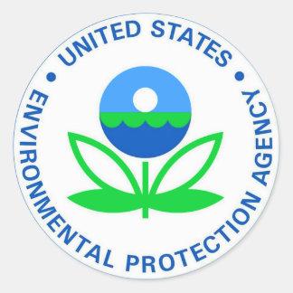 Adesivo Redondo Agência de Protecção Ambiental EPA