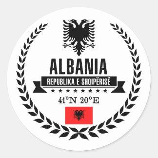 Adesivo Redondo Albânia